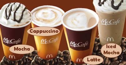 кофе McDonald's