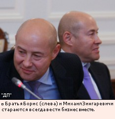 Братья Борис (слева) и Михаил Зингаревичи стараются всегда вести бизнес вместе.