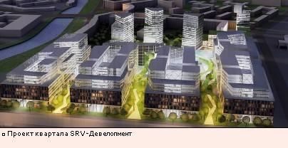 Проект квартала SRV-Девелопмент