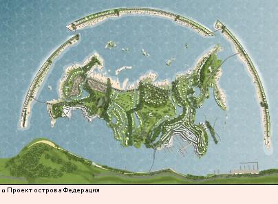 Проект острова Федерация