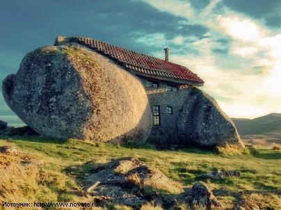 Дома из необычных материалов