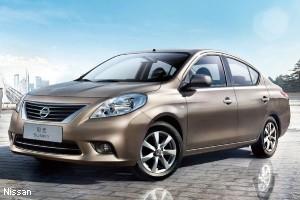 седан Nissan
