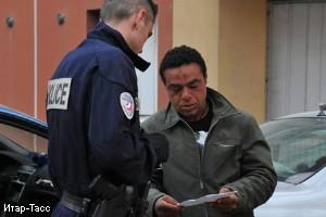 Операция по отлову нлегальных мигрантов во Франции