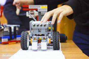 Набор деталей для создания робота