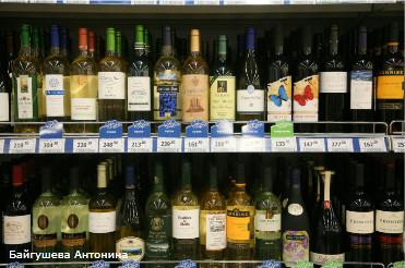 Условия для розничной продажи алкогольной продукции