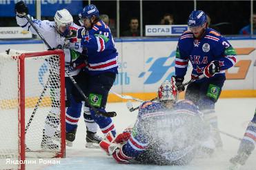 Петербургский СКА проиграл в матче за Кубок Открытия