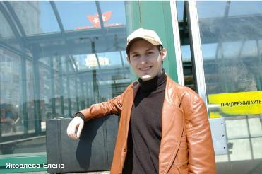 Павел Дуров и белый