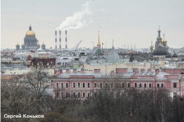Россия, Санкт-Петербург. Пентхаус по адресу: Тверская ул., д. 1.