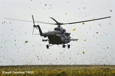 При крушении вертолета во Франции 2 октября 2014 года погибли пять человек