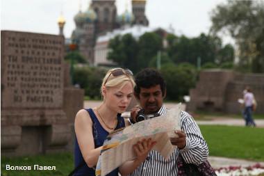 Поток иностранных туристов в Петербурге сократился на 7%