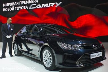Производство новой Toyota Camry в Петербурге начнется в ноябре