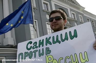 Евросоюз оставил в силе санкции против России, принятые летом