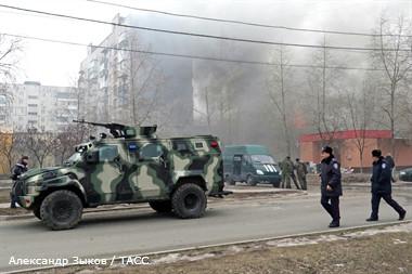 Обстреляли позиции украинской армии