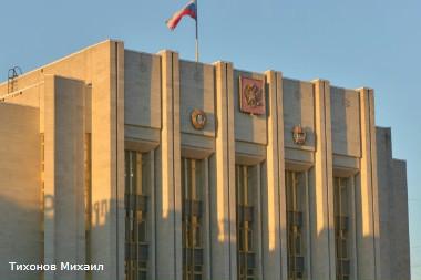 Здание ленинградской областной администрации на площади Пролетарской диктатуры