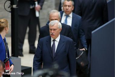георгий полтавченко повысил минимальную зарплату петербурге