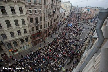 георгий полтавченко крестный ход невскому проспекту собравший