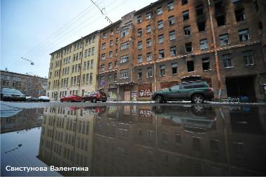 Российская Федерация. Санкт-Петербург. Здания на Сытнинской, 9 - 11, которые были снесены в 2014 году.