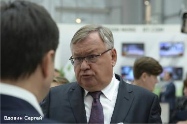 Президент банка ВТБ Андрей Костин