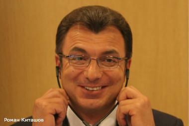 """Международный экономический форум. На фото: Филарет Гальчев - совладелец и председатель совета директоров """"Евроцемент груп"""""""
