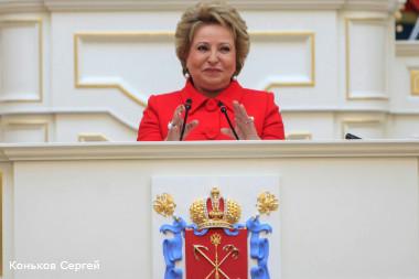 валентина матвиенко призвала перекроить карту россии