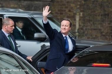 дэвид кэмерон официально поста премьер-министра великобритании