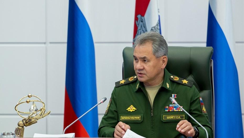 сергей шойгу представил нового командующего вдв сердюкова