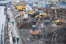 Строительство тоннеля под Литейным мостом                 (Фото: ДП)