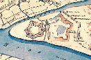 План крепости Ниеншанц 1703 год