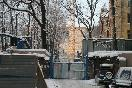 Во дворе дома №100 по набережной реки Фонтанки возводят новое административное здание                 (Фото: Trend)