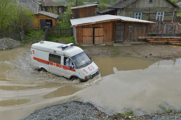 Пик наводнения в Алтайском крае ожидается с 4-го по 6-е июня